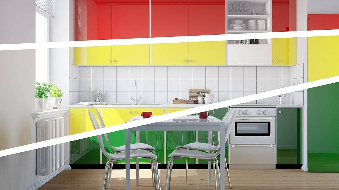 Kolory W Kuchni Których Unikać